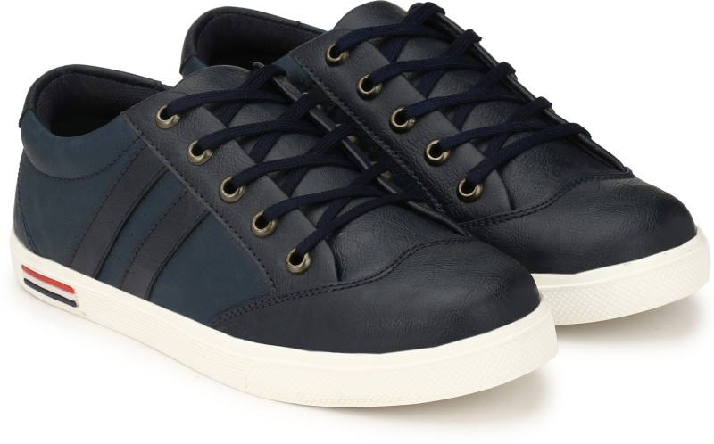 Neso Free Connect Blue Canvas Shoes Casuals Corpor