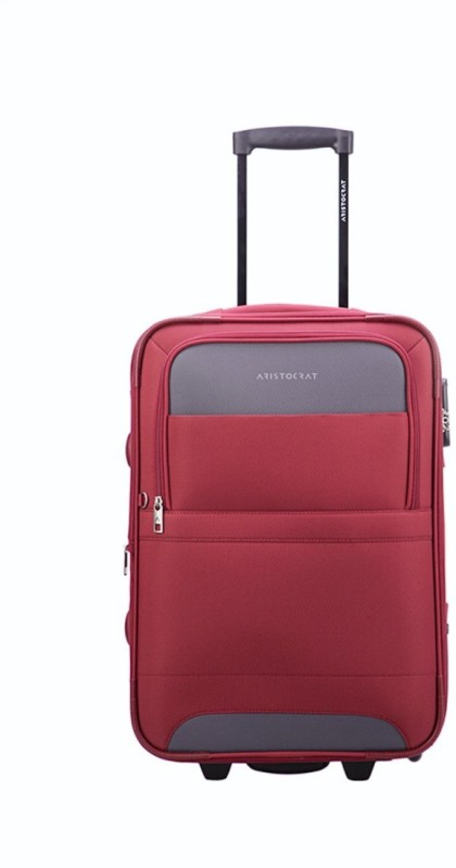 Aristocrat Corolla Expandable Cabin Luggage - 21 inch(Red)
