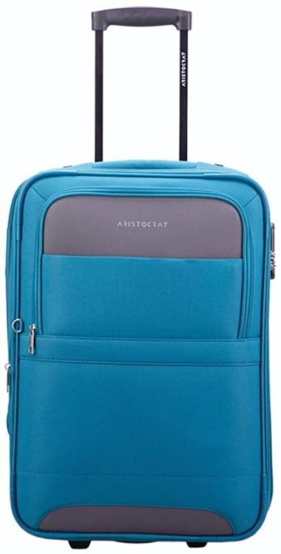 Aristocrat Corolla Expandable Cabin Luggage - 22 inch(Blue)