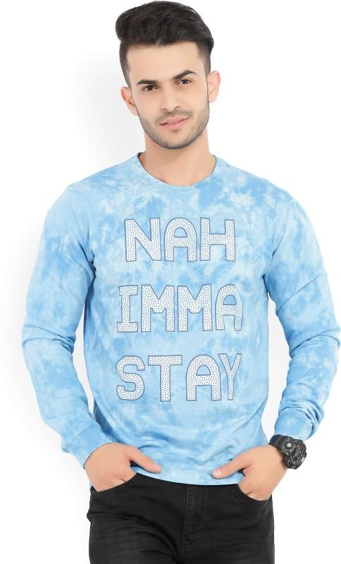 Peter England Full Sleeve Printed Mens Sweatshirt