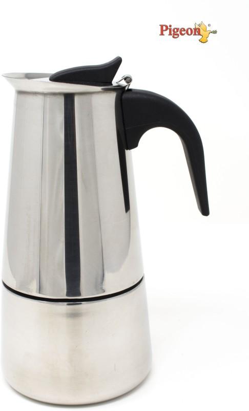 Pigeon Coffee Perculator 6 Cups Coffee Maker(Steel)