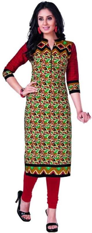 south adda Casual Printed Women's Kurti(Multicolor)