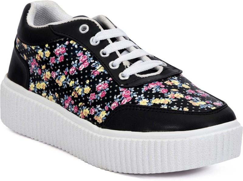 Meriggiare Sneakers For Women(Black)