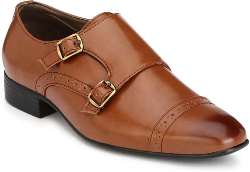 Guava Monk Strap For Men(Tan)