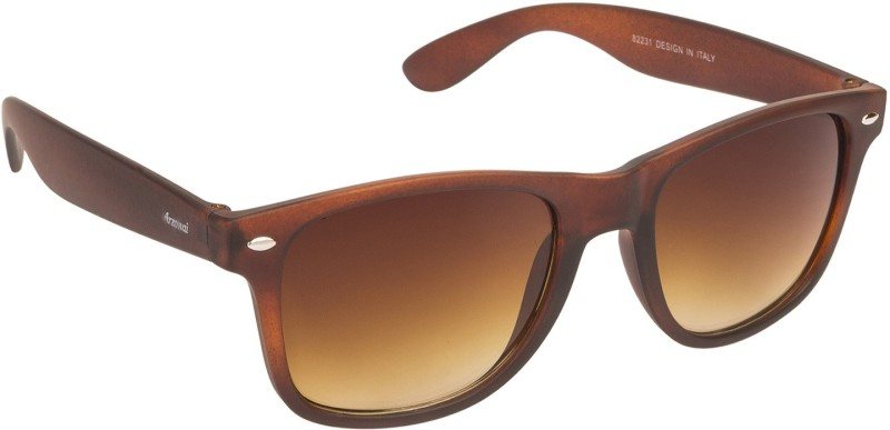 Arzonai Wayfarer Sunglasses(Brown) image
