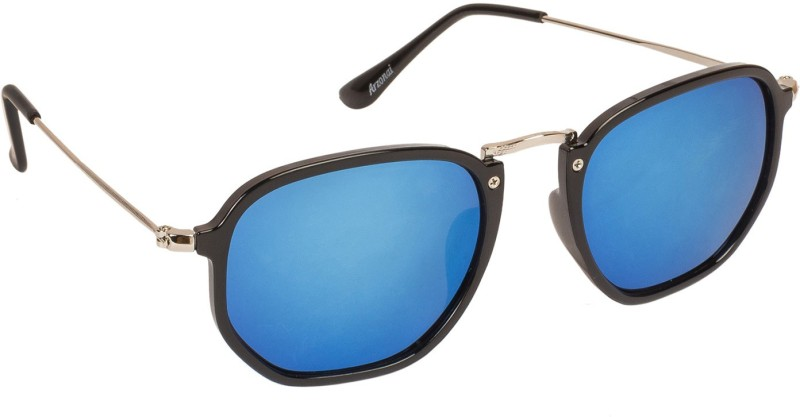 Arzonai Retro Square Sunglasses(Blue) image