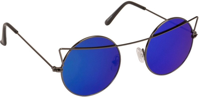 Arzonai Round Sunglasses(Blue) image