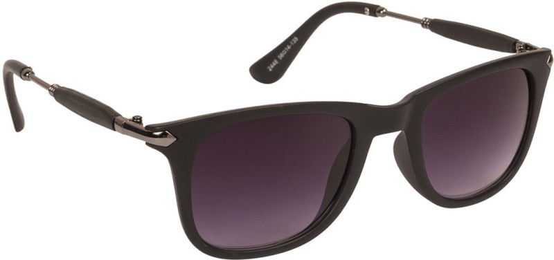 Arzonai Wayfarer Sunglasses(Black) image