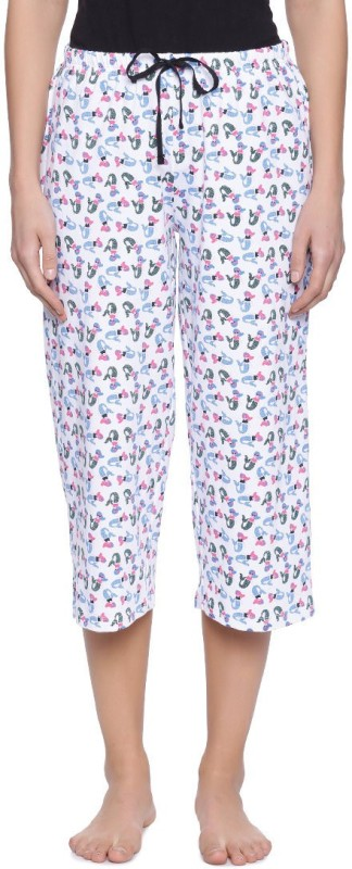 Zivame Relaxed Womens Multicolor Trousers