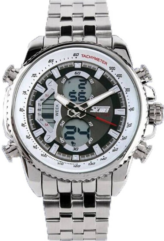 Skmei AD0993-White Formal Men's Watch image