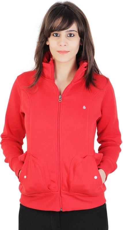 Bongio Full Sleeve Solid Women Jacket