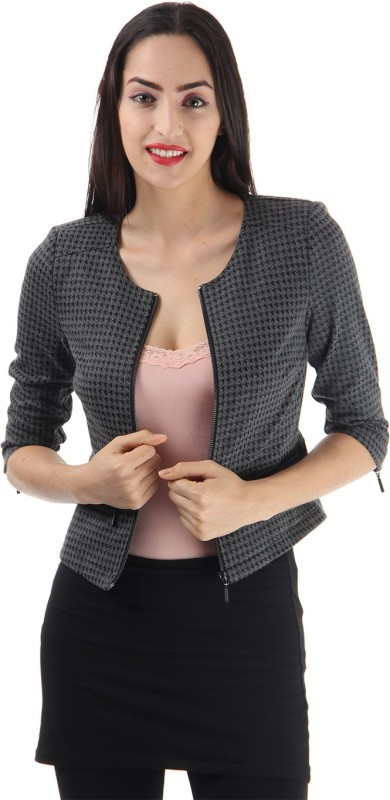 Only Half Sleeve Solid Women Jacket