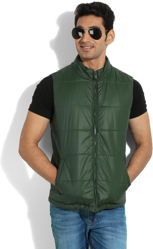 Numero Uno Sleeveless Solid Men's Quilted Jacket