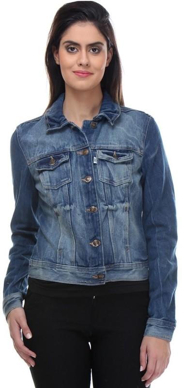 Kotty Full Sleeve Solid Women Jacket