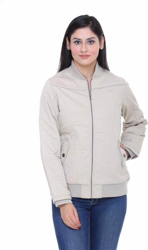 Trufit Full Sleeve Solid Womens Jacket