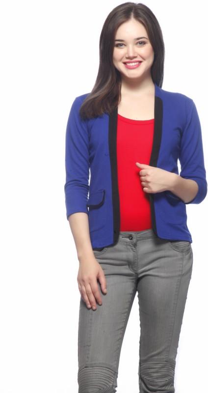 Gritstones Solid Women Jacket
