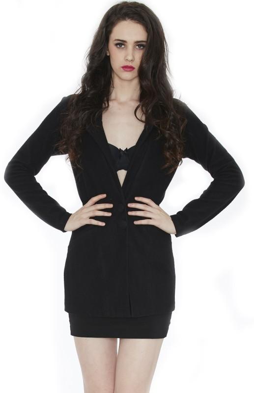 Divaat Full Sleeve Solid Women Jacket