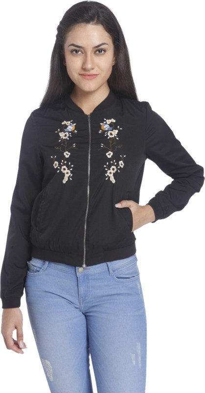 Only Full Sleeve Embroidered Women Jacket