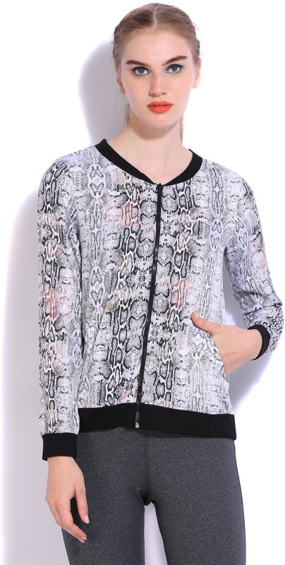 People Full Sleeve Animal Print Women Sports Jacket