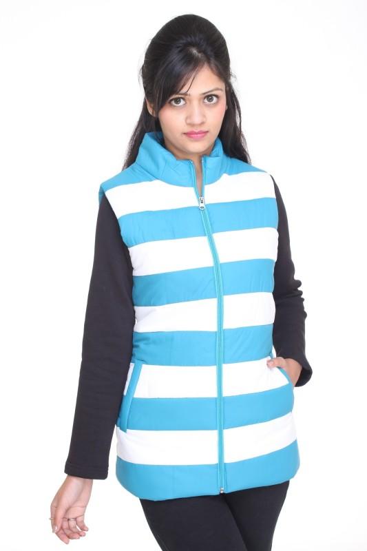 Trufit Sleeveless Solid Women Bomber Jacket