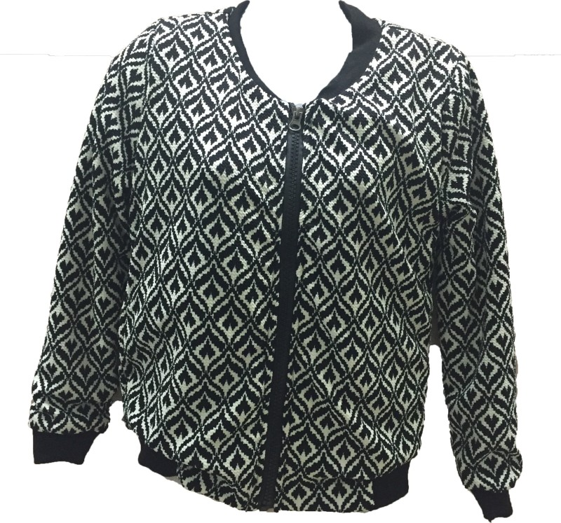 Dovekie Full Sleeve Self Design Women Jacket