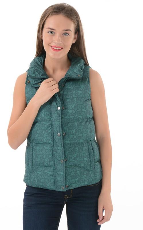 U.S. Polo Assn Sleeveless Paisley Womens Jacket