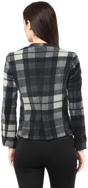 The Vanca Full Sleeve Self Design Womens Jacket
