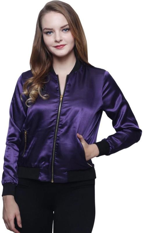 Trendsnu Full Sleeve Self Design Women Jacket