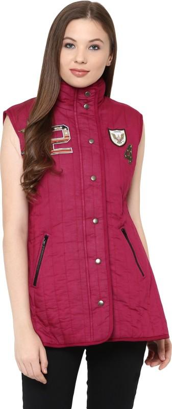 The Vanca Sleeveless Solid Women Jacket