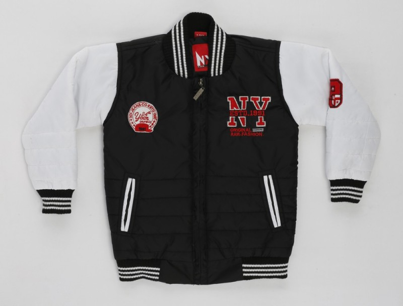 Noddy Full Sleeve Solid Boys Jacket