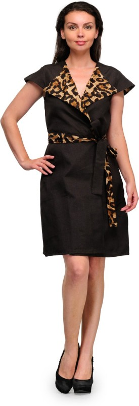 Tops and Tunics Women's A-line Brown Dress
