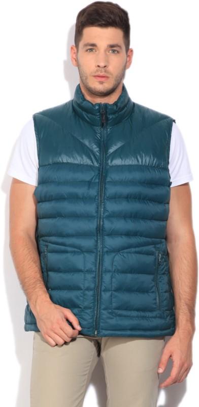 Nautica Sleeveless Self Design Men's Quilted Jacket