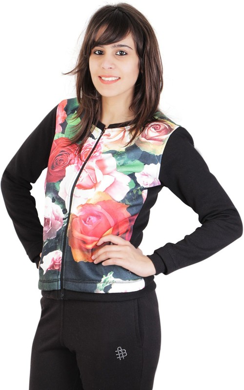 Bongio Full Sleeve Printed Women Jacket