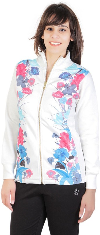 Bongio Full Sleeve Floral Print Women Jacket