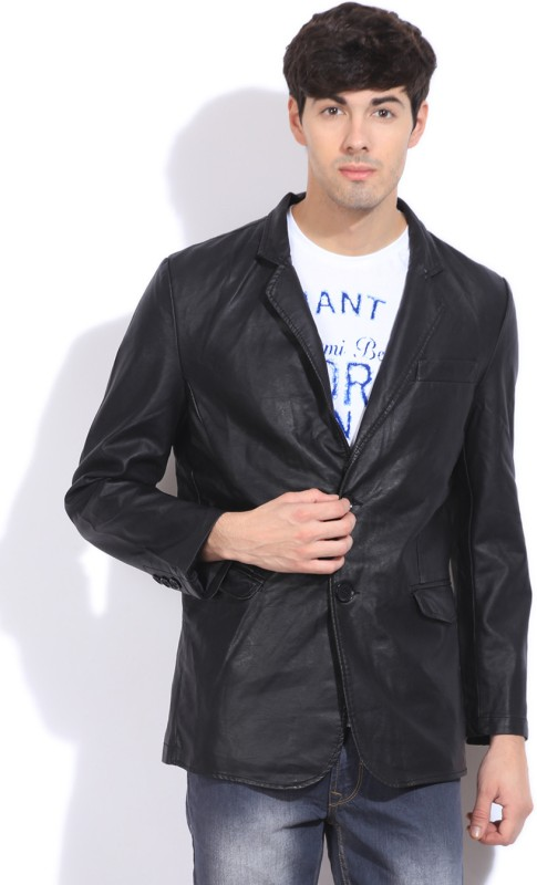 Arrow Full Sleeve Solid Mens Jacket