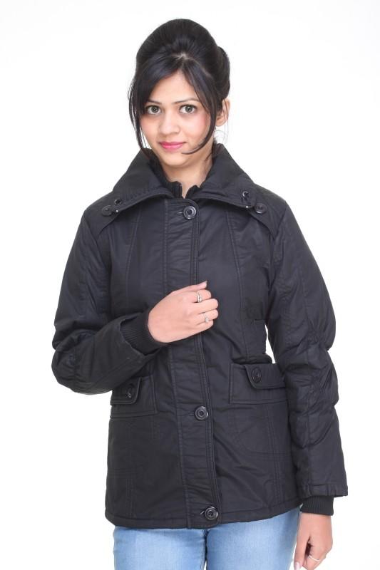 Trufit Full Sleeve Solid Women Bomber Jacket