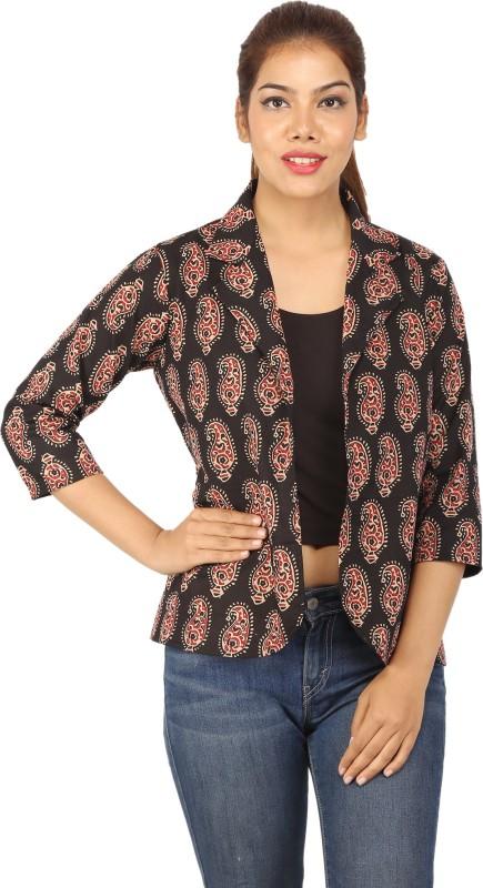 CHINMAYA 3/4 Sleeve Printed Women Jacket