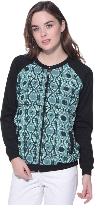Purys Full Sleeve Printed Women's Jacket