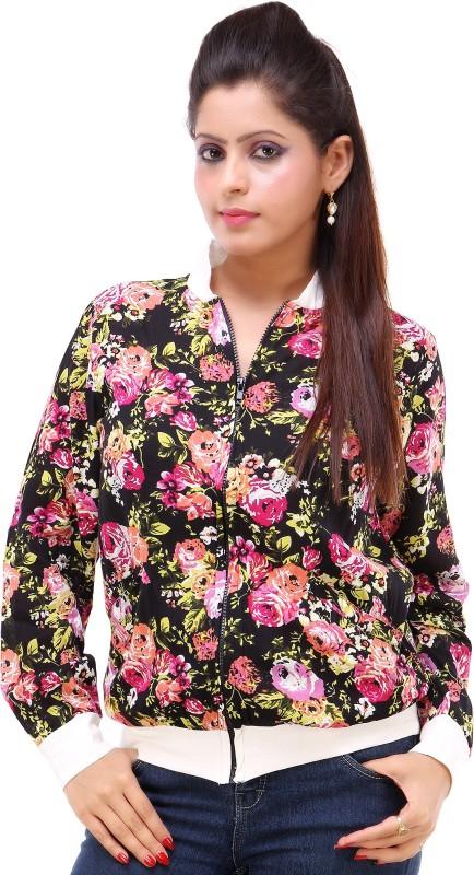 Kashana Fashions Full Sleeve Floral Print Women Jacket