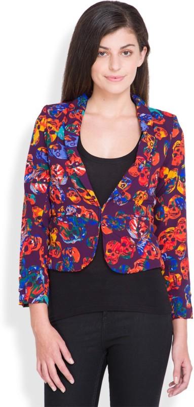 Tokyo Talkies Full Sleeve Printed Women Jacket