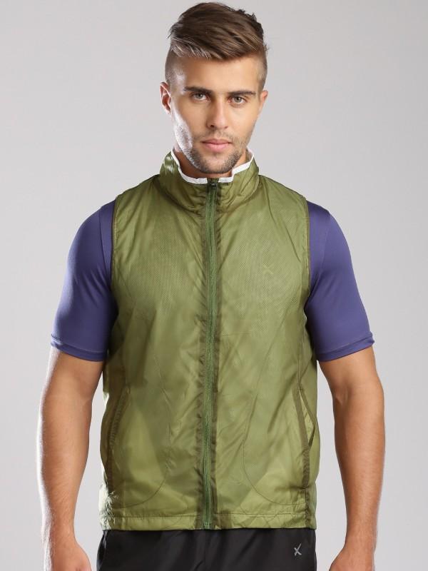 HRX by Hrithik Roshan Sleeveless Solid Mens Jacket