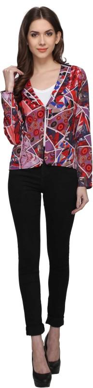 Athena Full Sleeve Printed Women Jacket