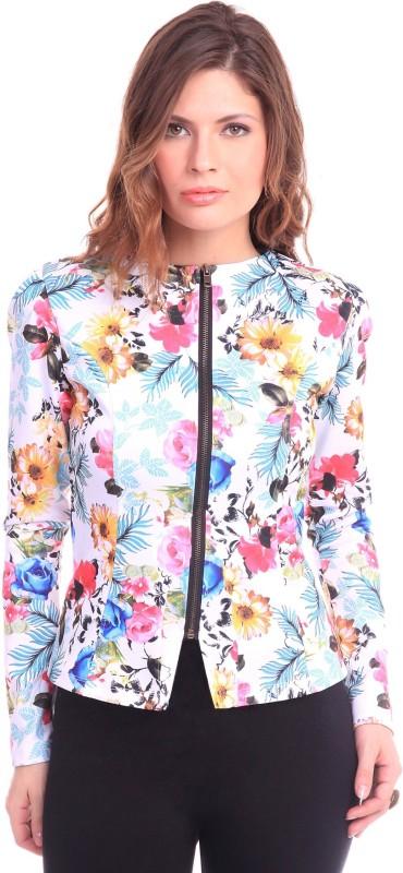 Sassafras Full Sleeve Floral Print Women Jacket