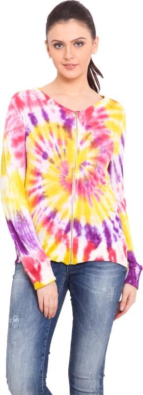 Trend Arrest Full Sleeve Printed Women Light Winter Jacket