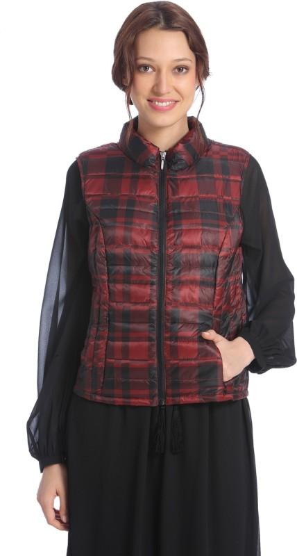Vero Moda Sleeveless Checkered Women Jacket
