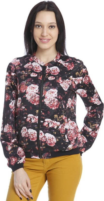 Only Full Sleeve Floral Print Women Jacket