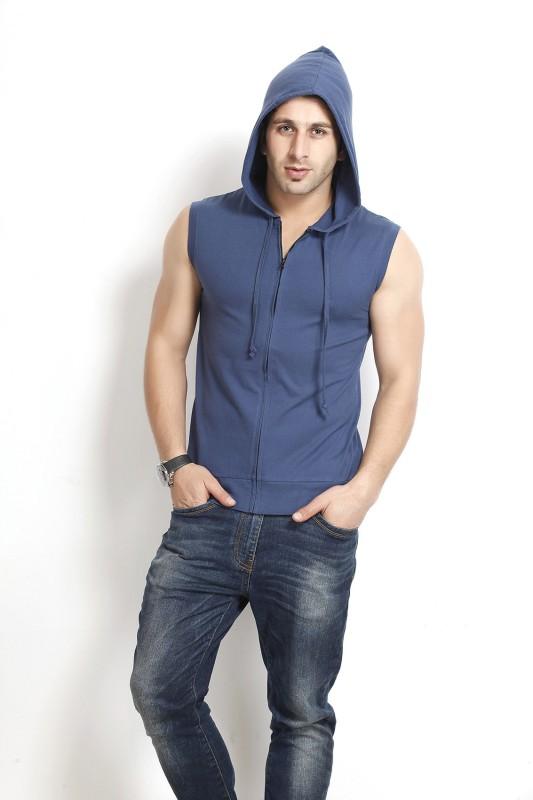 Gritstones Sleeveless Solid Men's Jacket