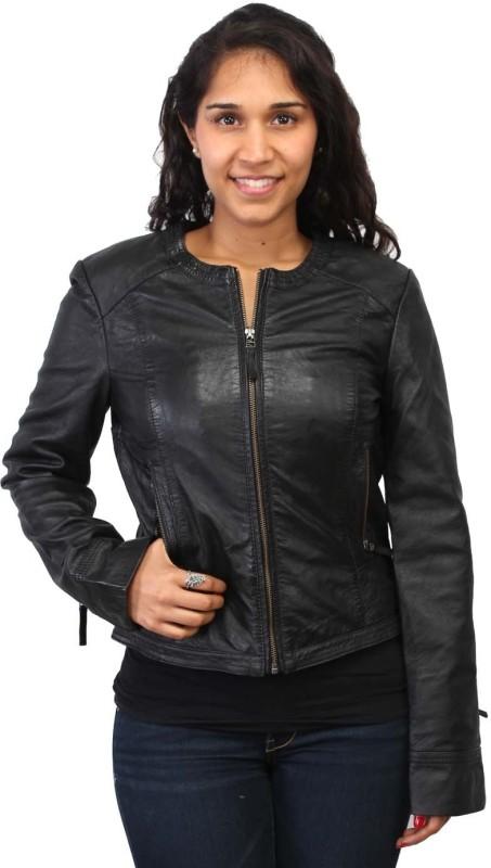 Bare Skin Full Sleeve Self Design Women Jacket