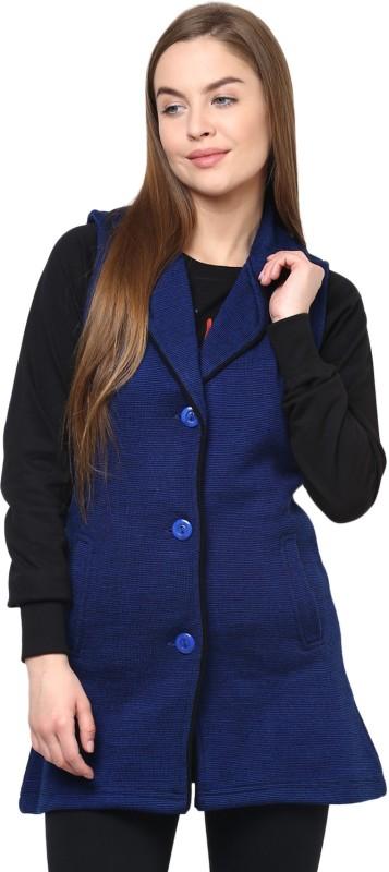 Cayman Sleeveless Solid Women Jacket