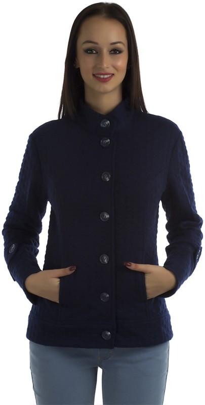 Peptrends Full Sleeve Self Design Women Jacket